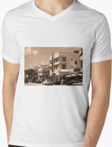 Miami Beach - Art Deco Mens V-Neck T-Shirt