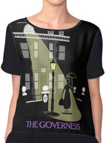 The Governess at No. 17  Chiffon Top