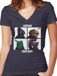 BROS OF LORDRAN Women's Fitted V-Neck T-Shirt