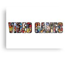 Video Games Metal Print
