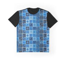 Blue Virus  Graphic T-Shirt
