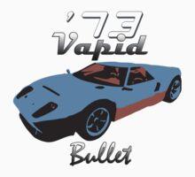 Vapid Bullet - Blue Kids Tee