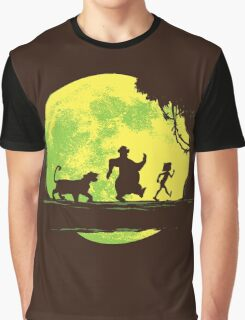 Jungle Moonwalk Graphic T-Shirt