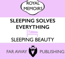 Sleeping Beauty Memoir Sticker