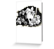 dead rose Greeting Card
