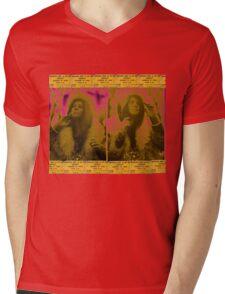 janis~ Mens V-Neck T-Shirt