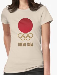 Japan Retro Tokyo Olympics 1964 Womens Fitted T-Shirt