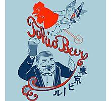 Vintage Tokio Beer Ad Photographic Print
