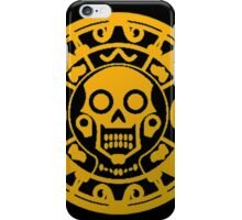 The Curse Of Aztec Coin iPhone Case/Skin