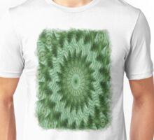 Green Stripes Kaleidoscope 9 Unisex T-Shirt