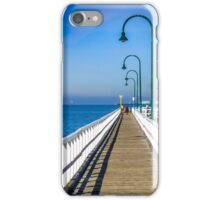 Public pier at holliday resort iPhone Case/Skin