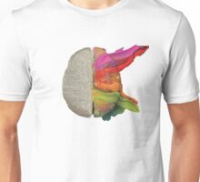 The coloured brain Unisex T-Shirt