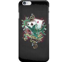 Poker Shark (black)  iPhone Case/Skin