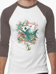 Poker Shark (black)  Men's Baseball ¾ T-Shirt