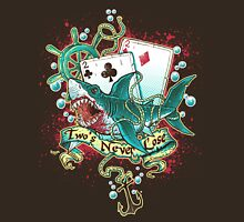 Poker Shark (black)  Unisex T-Shirt