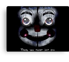 FNAF Sister Location: There was never just one Canvas Print