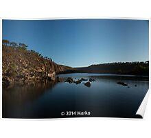 Beautiful Pentecost River, Western Australia Poster