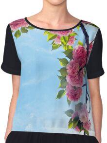 Blooming Blossoms  Chiffon Top