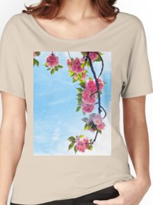 Blooming Blossoms  Women's Relaxed Fit T-Shirt