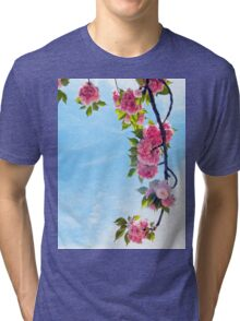 Blooming Blossoms  Tri-blend T-Shirt