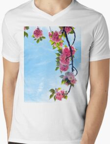 Blooming Blossoms  Mens V-Neck T-Shirt