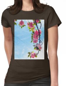 Blooming Blossoms  Womens Fitted T-Shirt