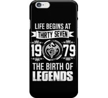 1979 THE BIRTH OF LEGENDS iPhone Case/Skin