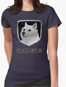 Dodge Ram ''DOGE'' Logo Womens Fitted T-Shirt