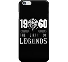 1960 - THE BIRTH OF LEGENDS iPhone Case/Skin