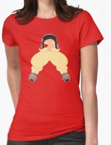 Minimalist Torbjorn Womens Fitted T-Shirt