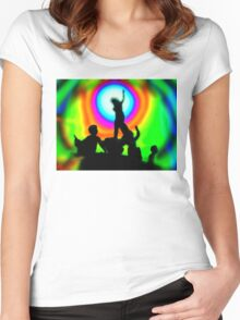 Dawning of the Age of Aquarius Women's Fitted Scoop T-Shirt