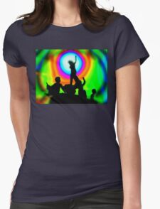 Dawning of the Age of Aquarius Womens Fitted T-Shirt