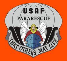 USAF Pararescue - Air Force Parachute Rescue Kids Tee