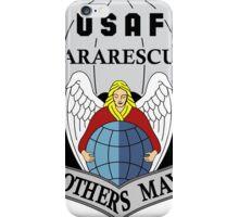 USAF Pararescue - Air Force Parachute Rescue iPhone Case/Skin