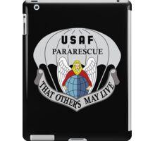 USAF Pararescue - Air Force Parachute Rescue iPad Case/Skin