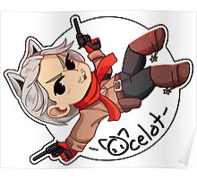 Revolver Ocelot Chibi Poster