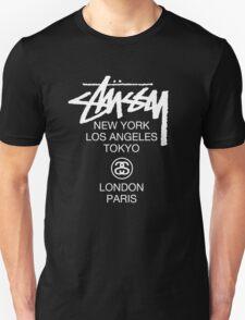 Stussy Logo Location high quality  Unisex T-Shirt