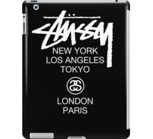 Stussy Logo Location high quality  iPad Case/Skin