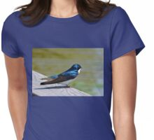 Terrance The Tree Swallow  Womens Fitted T-Shirt