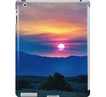 Socal fire sunset iPad Case/Skin