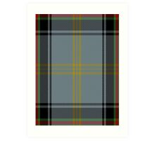 00273 Bell of the Border Tartan  Art Print