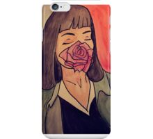Mrs. Mia Wallace iPhone Case/Skin