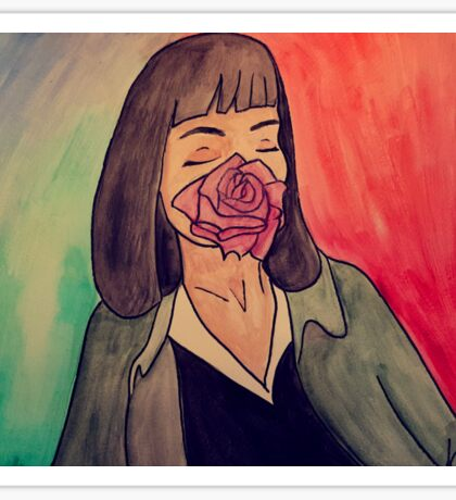 Mrs. Mia Wallace Sticker