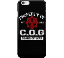 Property of COG - White iPhone Case/Skin