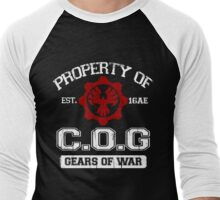 Property of COG - White Men's Baseball ¾ T-Shirt