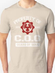 Property of COG - White Unisex T-Shirt