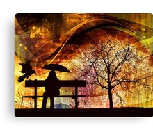 Under The Weather Canvas Print