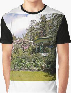 Band Rotunda, Cataract Gorge, Launceston, Tasmania Graphic T-Shirt