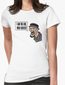 I AM THE ONE WHO KNOCKS (ver 2) Womens Fitted T-Shirt
