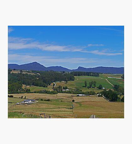 Near Ulverstone, Tasmania, Australia Photographic Print